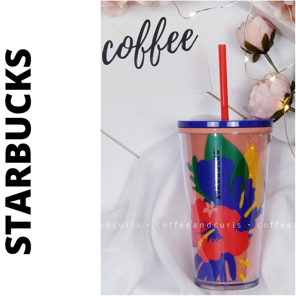 Starbucks Hibiscus 2020 Summer Grande Cold Cup NWT